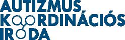 Autizmus Koordinációs Iroda logója. Az Iroda az FSZK egyik programirodája.