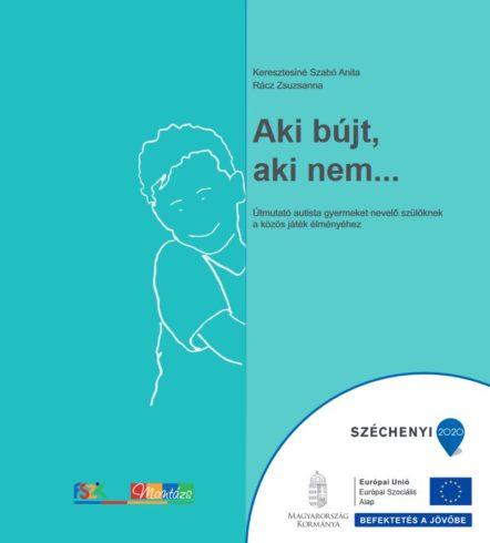 A képen a kiadvány borítója látható. Egy rajzolt gyermek néz ki egy fal mögül.
