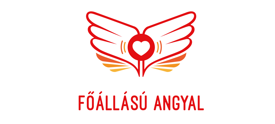A képen egy rajzolt angyalszárny látható melynek közepén egy szív található.