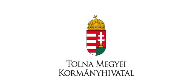 A képen Magyarország címere látható és alatta az alábbi szöveg olvasható Tolna Megyei Kormányhivatal.
